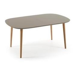 Drewniany stół oakland brązowy