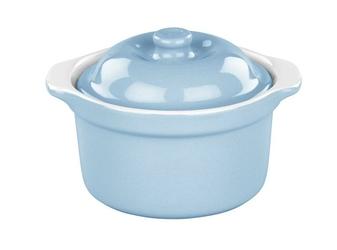 Naczynie do zapiekania mini cocotte Retro niebieskie