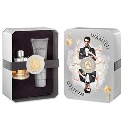 Zestaw azzaro wanted perfumy męskie - woda toaletowa 50ml + żel pod prysznic 100ml