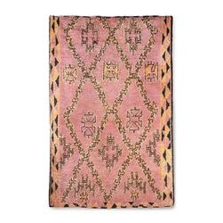 Hkliving ręcznie tkany wełniany dywan berberyjski terrapomarańczowy 180x280 ttk3042