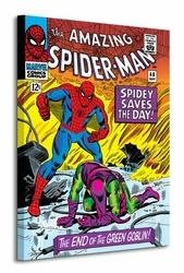 Spider-Man End of the Green Goblin - Obraz na płótnie
