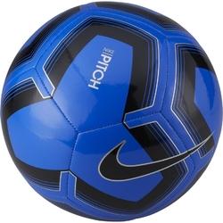 Piłka nożna nike pitch train sp19 sc3893-410 niebiesko-czarna