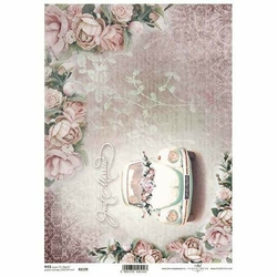 Papier ryżowy ITD A4 R1539 ślub