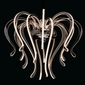 Ultranowoczesna lampa wisząca z ramionami led regenbogen megapolis 661015316