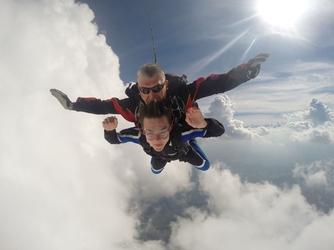 Skok ze spadochronem dla dwojga - trójmiasto