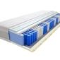 Materac kieszeniowy jaśmin lux 80x160 cm średnio twardy 2x lateks visco memory