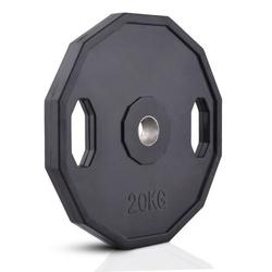 Obciążenie olimpijskie ogumowane 20 kg mw-o20g-oli - marbo sport - 20 kg