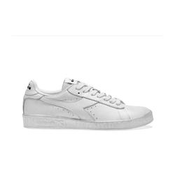 Sneakersy diadora game l low waxed - biały