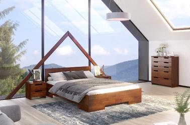 Łóżko drewniane sosnowe skandica spectrum maxi  long