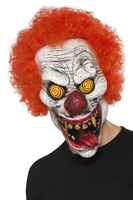 Maska zły klaun clown halloween twisted