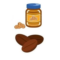 Kawa arabica mielona lub ziarnista o smaku masła orzechowego 200g