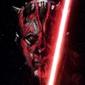 Star wars gwiezdne wojny darth maul - plakat premium wymiar do wyboru: 30x45 cm