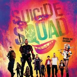 Suicide Squad Legion Samobójców - oficjalny kalendarz 2017