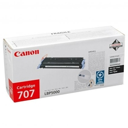 Canon oryginalny toner CRG707, black, 2500s, 9424A004, Canon i-SENSYS LBP5000,5100,5101