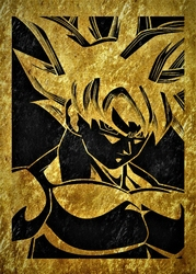 Golden LUX - Dragon Ball - plakat Wymiar do wyboru: 60x80 cm
