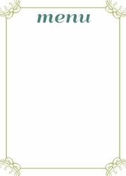 030 menu tablica suchościeralna