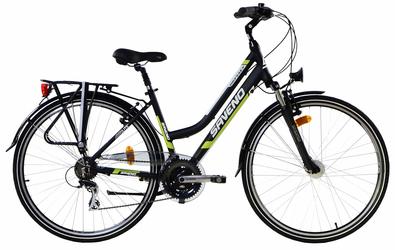 Rower trekingowy Saveno Odyssey Lady Green 2016