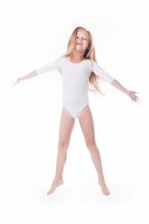 Shepa Body gimnastyczne lycra B7 rękaw 34