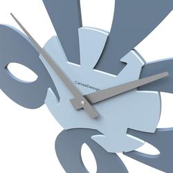 Zegar ścienny ciccio calleadesign niebieski 10-104-44