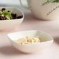 Talerz głęboki do zupy kwadratowy porcelana karolina hiruni 17 cm