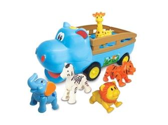 Hipciowóz dumel samochód ze zwierzątkami