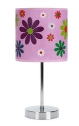 Lampka nocna stojąca kwiatuszki nuka