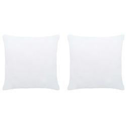 Vidaxl wkłady do poduszek, 2 szt., 40x40 cm, białe
