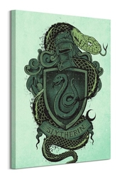 Harry potter slytherin - obraz na płótnie