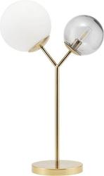Lampa stołowa twice złota