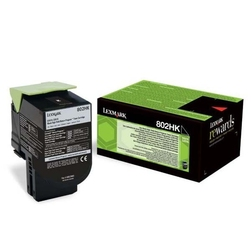 Lexmark oryginalny toner 80c2hk0, black, 4000s, return, lexmark cx410510