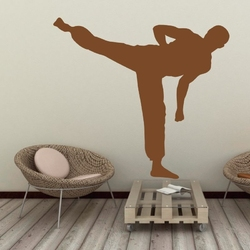 Szablon malarski karate kyokushin 18sm53