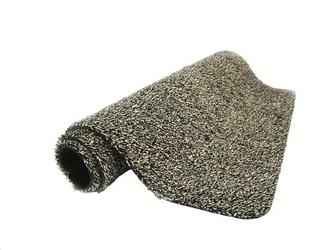 Magiczna wycieraczka do butów magic clean step mat czarno-beżowa