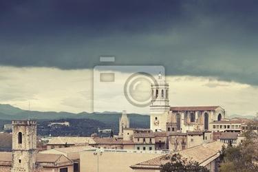 Fototapeta burza w gironie