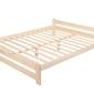 Łóżko drewniane Ottawa 160x200 sosnowe