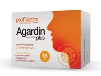 AGARDIN Plus x 16 pastylek do ssania