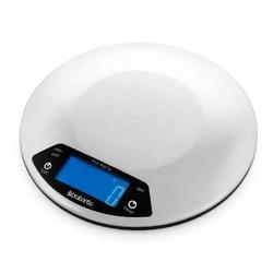 Brabantia - cyfrowa waga kuchenna profile 3kg  1g, timer, okrągła - stal matowa