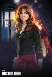 Doctor Who Clara Oswald - plakat