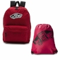 Plecak szkolny Vans Realm Biking Red - VN0A3UI61OA + Worek