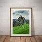 Jatiluwih tree - plakat premium wymiar do wyboru: 40x50 cm
