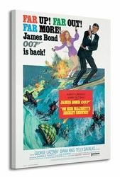 James Bond On Her Majestys Secret Service - Obraz na płótnie