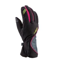 Rękawice viking kathrina ski lady czarno-różowe