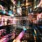 Obraz voyages do fractal świata