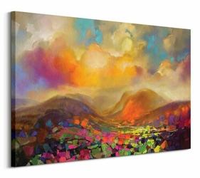 Nevis Range Colour - obraz na płótnie