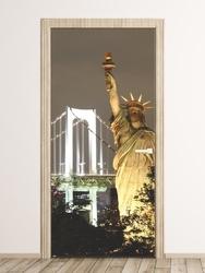Fototapeta na drzwi nowy jork, statua wolności fp 2271 d