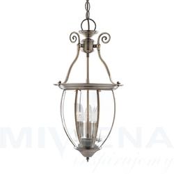 Lanterns lampa wisząca 27 antyczny mosiądz