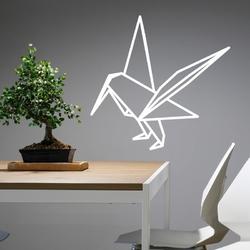 Szablon do malowania ptak origami 2469