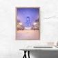 Zimowy pałac - plakat premium wymiar do wyboru: 42x59,4 cm