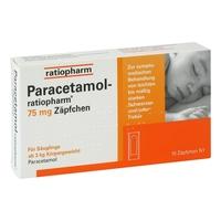 Paracetamol ratiopharm 75 mg suppos.