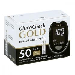 Gluco check gold blutzuckerteststreifen