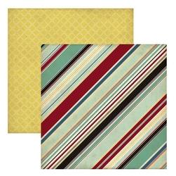 Papier 30,5x30,5 cm TimesandSeasons2-Manly Stripe - 08